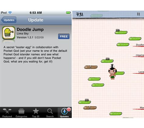 doodle jump update doodle jump update unleashes the pygmy