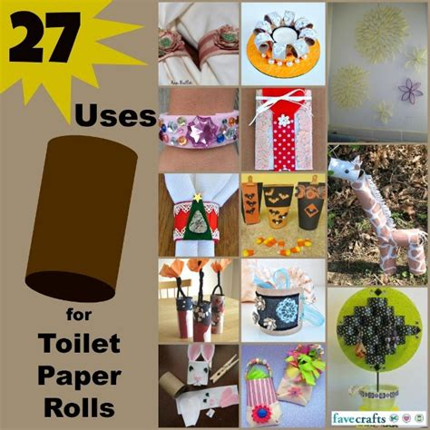 Craft Ideas Using Toilet Paper Rolls - 36 uses for toilet paper rolls favecrafts