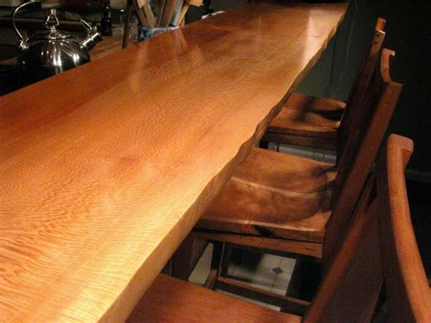 bar top edge furniture trends the rise of live edge wood furniture