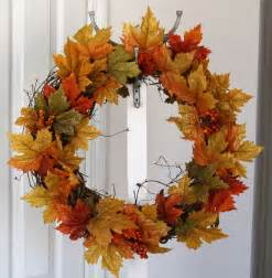 simply silver diy fall wreath