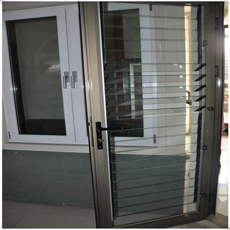 Louvered Glass Doors Inexpensive Aluminum Glass Louver Door Buy Louver Door Glass Louver Door Aluminum Glass Louver