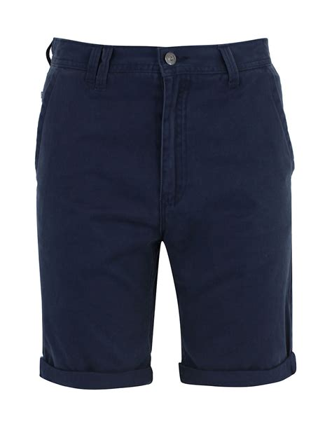 Bench Aigburth F Shorts In Blue For Men Total Eclipse