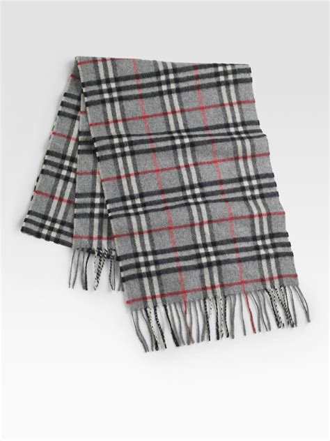 12 Most Stylish Burberry Scarves by Burberry Check Scarf In Beige For Camel Lyst