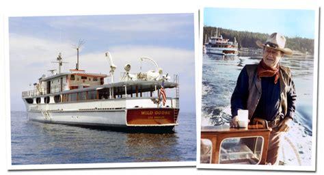 john wayne s boat when john wayne traveled the sea with frank sinatra dean