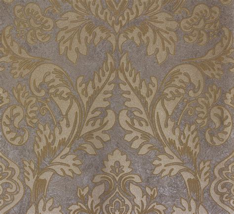 grey and gold wallpaper baroque grey gold 56804