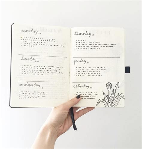 design journal week top 5 bujo ideas in 2016 bullet journal