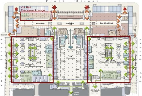 chicago union station floor plan union station floor plan union station revitalization toronto