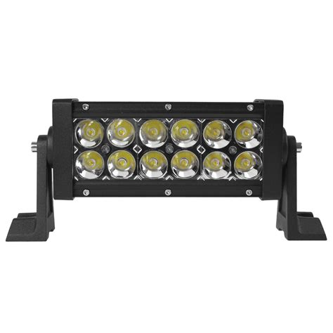 Sale 2520lm 12 X 3w Led Light Multifunction Stroboflash Led Light Bar For Sale