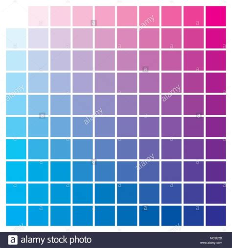 cmyk color chart cmyk color chart to use in prepress and printing used to