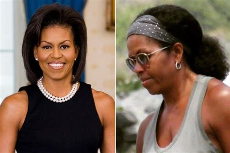 does michelle obama have hair extensions man texts wrong number about his penis size and it does