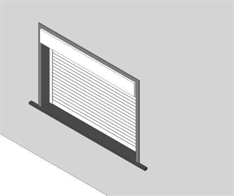 Overhead Coiling Door Overhead Door Corporation Coiling Doors And Grilles Bim Objects Families