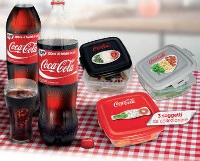 coupon alimenti coca cola ti regala i contenitori porta alimenti