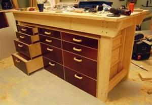 woodwork workbench drawers plans pdf plans
