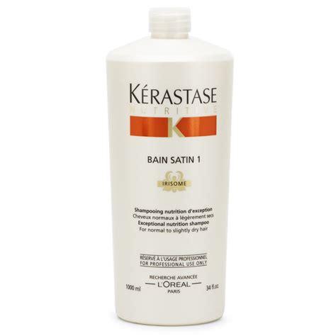 Vitamin Kerastase K 233 Rastase Nutritive Bain Satin 1 1000ml With Free