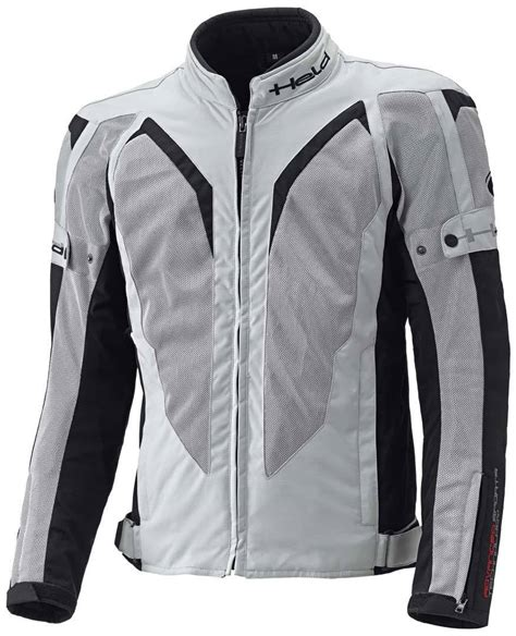 Held Motorrad Textilbekleidung by Held Sonic Damen Tourenjacke Grau Schwarz Touring