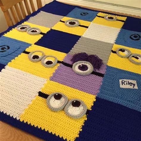 Decke Minions by Minion Decke Zuk 252 Nftige Projekte Deckchen