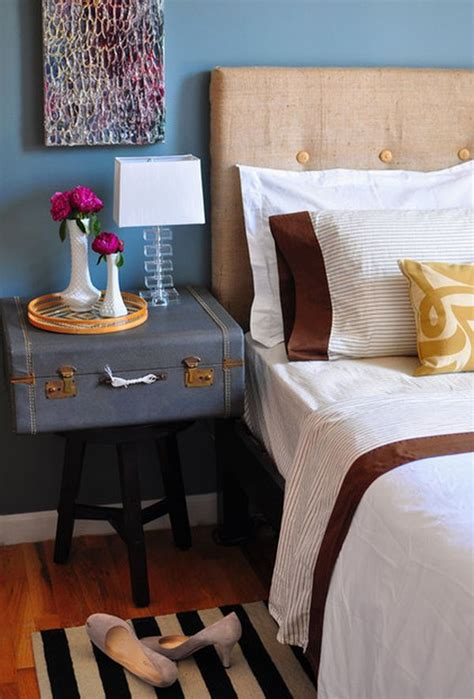 run to the bedroom in the suitcase on the left get sorted creative storage ideas that use space more