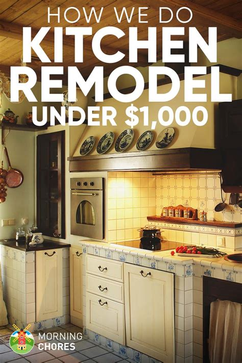 diy kitchen ideas diy kitchen remodel ideas how we do it for 1 000