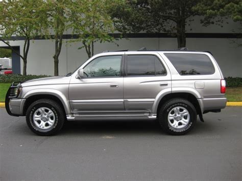 2001 Toyota 4runner Sr5 Specs 2001 Toyota 4runner Limited Features