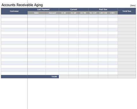Accounts Receivable Template accounts receivable template excel quotes