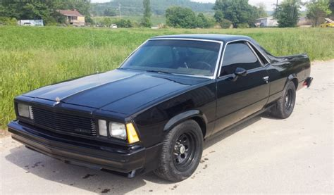 black el camino td customs auto paint asheville auto repair