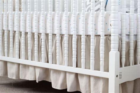 Ruffled Crib Skirt Diy by Diy Ruffled Crib Skirt Crafts