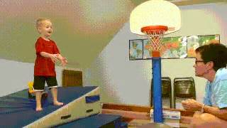 Toddler Fell Down Stairs Hit Head by Irti Funny Gif 5496 Tags Kids Cant Ball Kid Falls