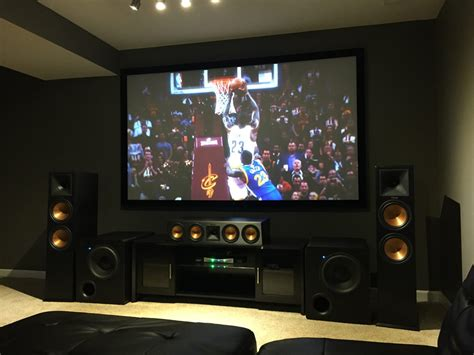 Livingroom Theatres Jermaine Brings The Sonic Boom With Dual Svs Subwoofers
