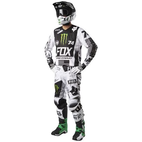 cheap fox motocross gear fox racing 180 pro circuit se jersey revzilla