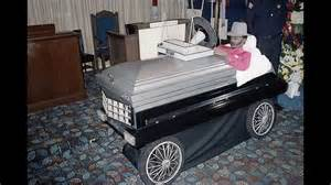 Cadillac Buried In In 1984 Willie The Wimp Stokes Was Buried In A Custom