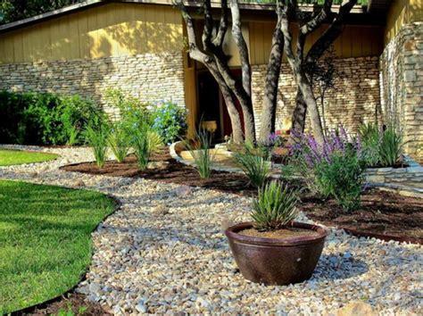 Small Pebble Garden Ideas Gartengestaltung Mit Kies Und Steinen 25 Gartenideen F 252 R Sie