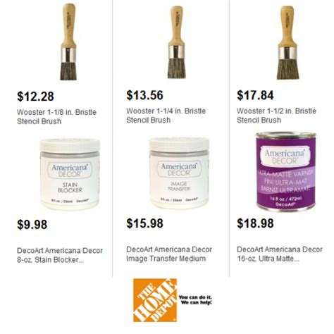 home depot chalk paint colors how does decoart chalk paint at home depot size up