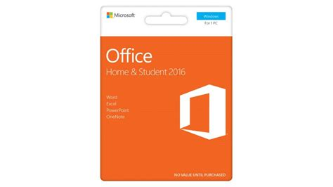 microsoft office home and student 2016 software