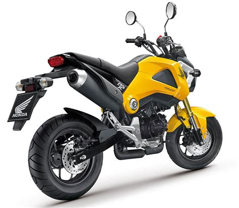 125er Motorrad Test 2013 by Honda Msx125 Neues Funbike 125er News