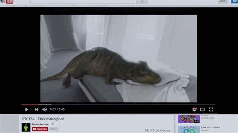 T Rex Short Arms Meme - audi t rex ad is a different take on a sad internet meme