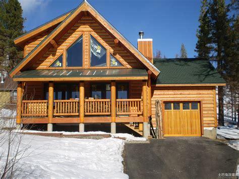 木结构房屋图片 土巴兔装修效果图