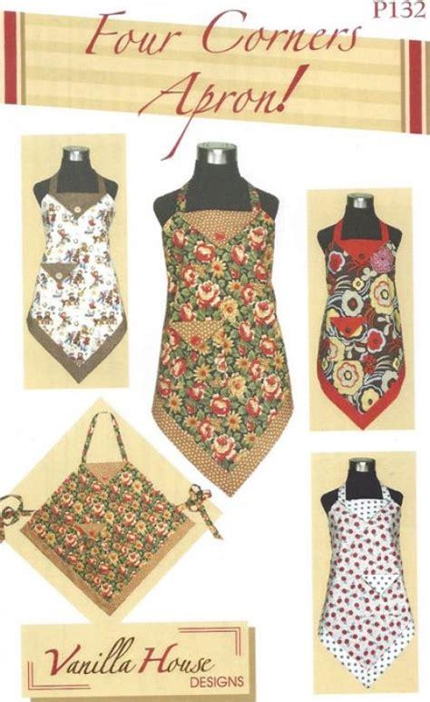 pattern for workshop apron four corners apron pattern