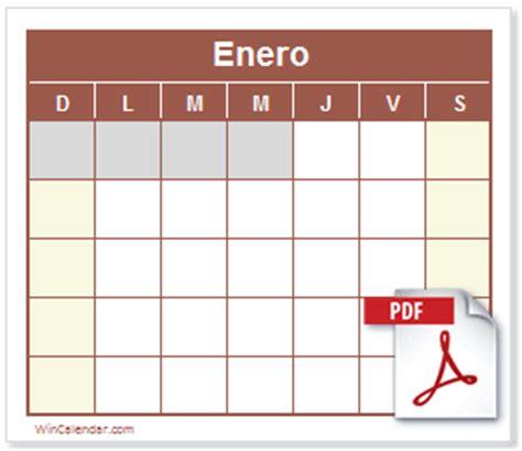 calendario 2017 pdf calendario pdf gratis y para imprimir