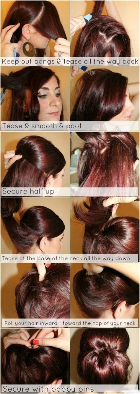 tutorial thin hair hairstyles 12 trendy low bun updo hairstyles tutorials easy cute