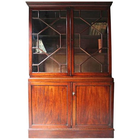 Beautiful Bookcases For Sale Beautiful Regency Period Mahogany Astragal Glazed Bookcase