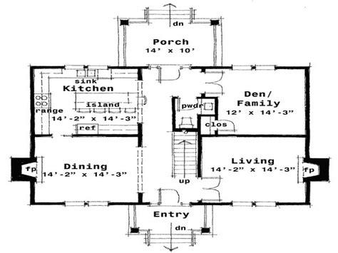 center colonial floor plan center colonial floor plan house style and plans colonial house style