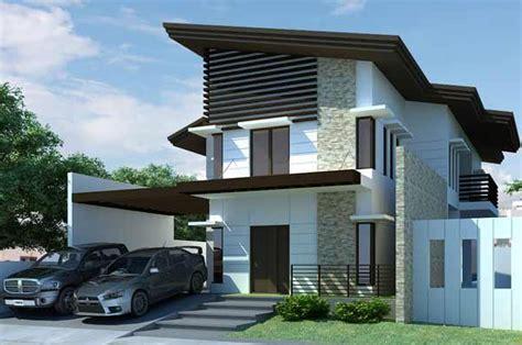 desain rumah dua lantai luas tanah  desain rumah mesra
