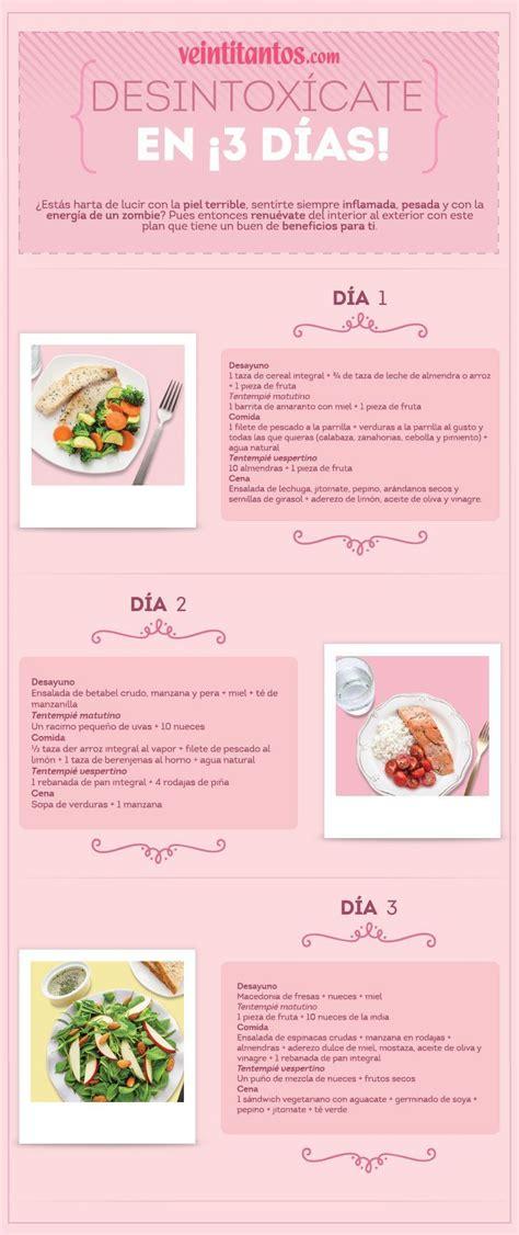Detox Casero 3 Dias by Dieta Detox 3 D 237 As Nutrici 243 N Dietas Salud