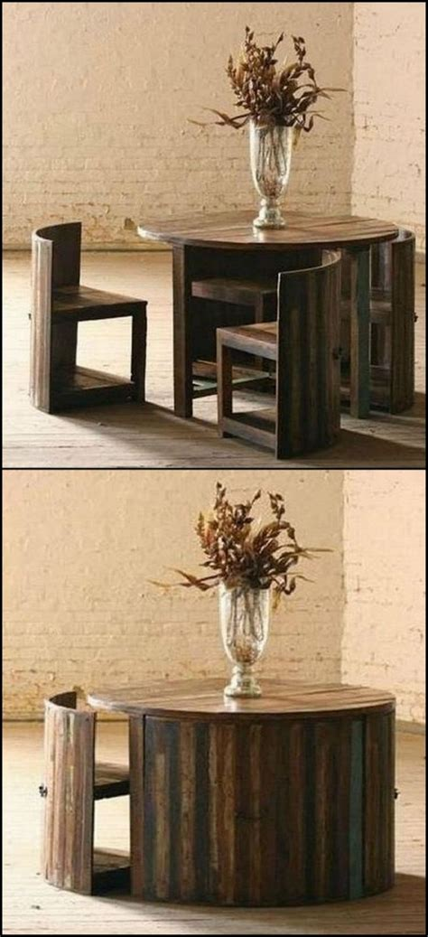 space saving table ideas that will make your easier - Space Saving Table Ideas