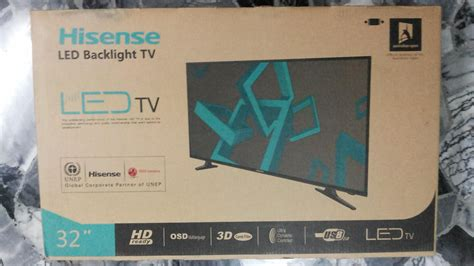 Lg 60 Inch Tv Stand by New Hisense 32 Quot Led Tv Usb Movie 2 Yrs Warranty