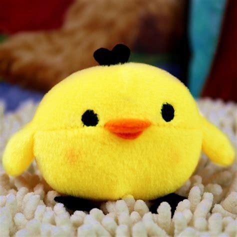 soft fluffy chicken stuffed plush pillow
