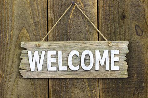 Home Decor Wood Signs by Welcome Sign Pictures Images And Stock Photos Istock