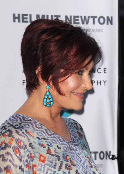 back view of sharon osbourne haircut more pics of sharon osbourne short straight cut 1 of 6