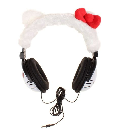Headphone Hk Ay 4 Hello hello plush headphones hello kitty