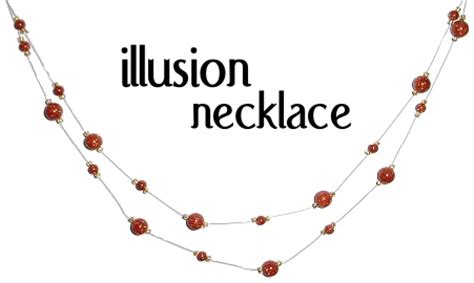 how do i make my own jewelry my make your own illusion necklace bling bling